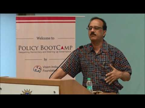 Policy BootCamp 2016: Devinder Sharma on the Agrarian Crisis in India