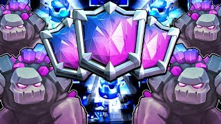#1 Best Golem Deck In The World!! Unstoppable Deck!! Clash Royale Golem Deck Are