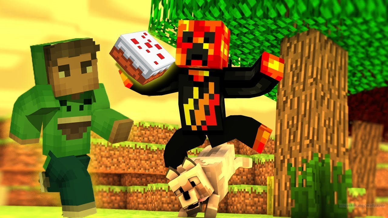 Preston S Birthday Cake Jelly And Prestonplayz Funniest Minecraft Animations Youtube