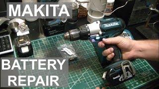 Makita Battery Repair - Beaten By The Mighty Makita Machine! - ElementalMaker