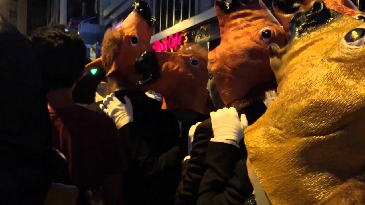lan kwai fong halloween 2015 hong kong - youtube