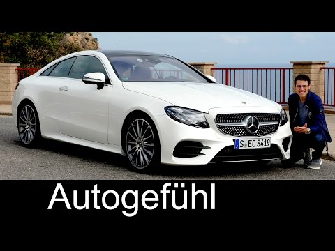 Mercedes E-Class Coupé E400 FULL REVIEW E-Klasse AMG-Line test driven 2018/2017 all-new neu