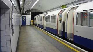 London Underground: Oxford Circus (Victoria Line)