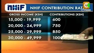 NHIF New Rate
