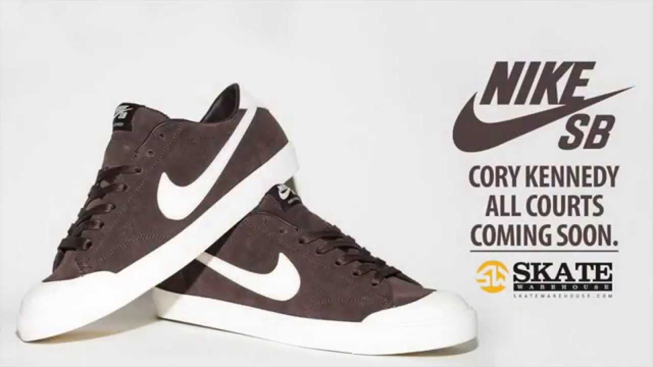 newest collection a91dd 8e2f0 Nike SB All Court CK Commercial Ft. Mike Roth
