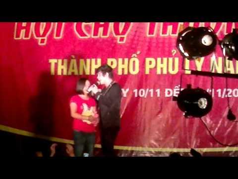 khanh phuong hat o hoi cho hanam