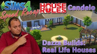 """Sims4 House Rules TV Builds: 7: """"Candelo"""""""