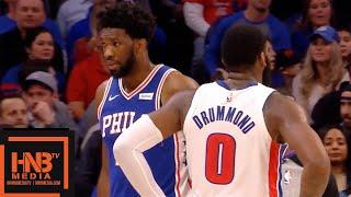 Philadelphia Sixers vs Detroit Pistons 1st Qtr Highlights | 12.10.2018, NBA Season