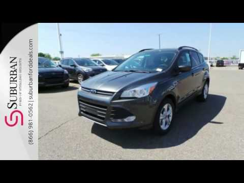 New 2016 Ford Escape Sterling Heights, MI #FG6563 · Suburban Ford Mazda ...