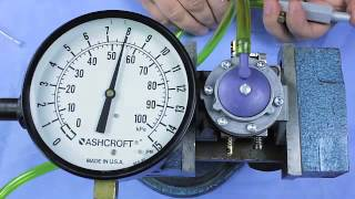 how to check pop off pressure on a tillotson carburetor