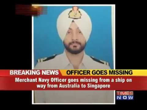 Merchant Navy officer goes missing