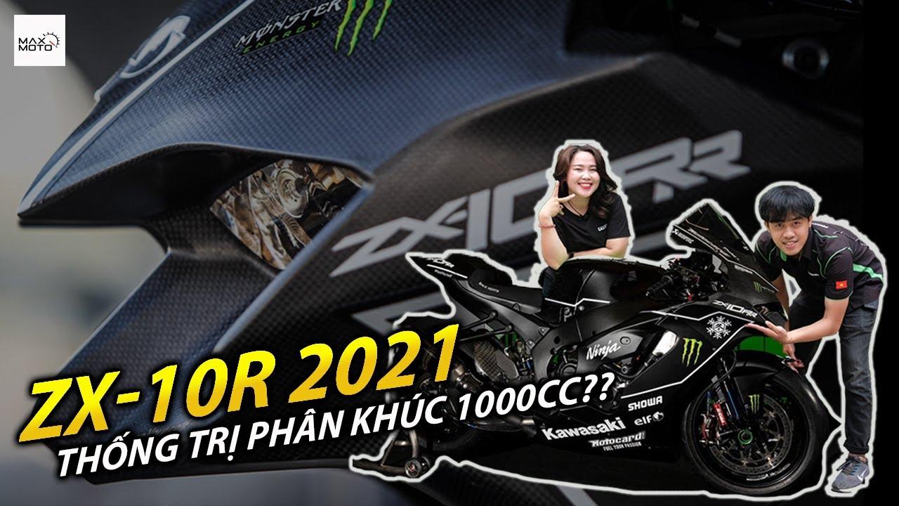 ZX-10R 2021 mới đủ sức thống trị phân khúc 1000cc??? | Kawasaki | MAXMOTO