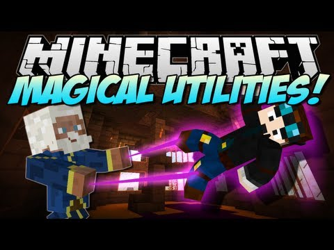 Minecraft | MAGICAL UTILITIES! (7 NEW Magical Items!) | Mod Showcase [1.5.2]