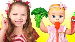 Yes Yes Vegetables Song    Healthy Eating For Kids     Nicole Sing-Along Nursery Rhymes Kids Songs