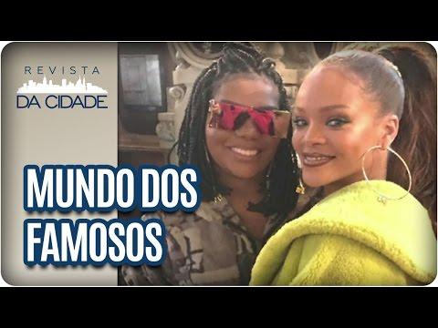 Ludmilla, Rihanna e Yanna Lavigne  - Revista da Cidade (07/03/2017)