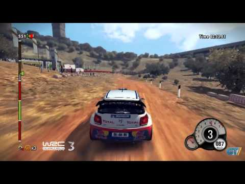 WRC 3 - FIA World Rally Championship 2012 - Portugal Track Gameplay