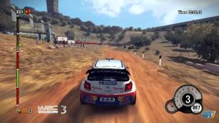 WRC 3 - FIA World Rally Championship 2012 - Portugal Track Gameplay