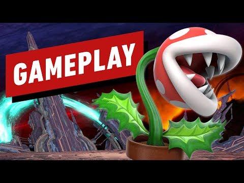 Piranha Plant Gameplay - Super Smash Bros. Ultimate