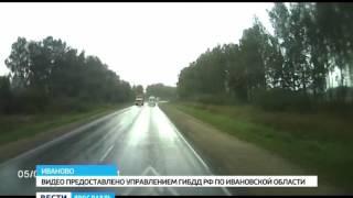 В Ивановской области ярославцы попали в аварию