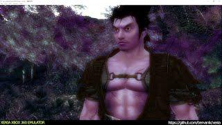 Xenia Xbox 360 Emulator - Kengo Legend of the 9 ingame! (20458de/Sep 9 2016) VULKAN