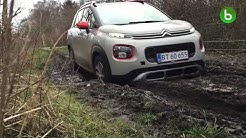 Citroen C3 Aircross off road test crazy