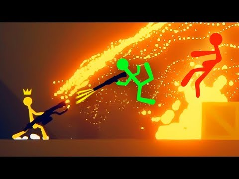 MOST EXTREME STICK FIGHTER GAME EVER! (Stick Fight)