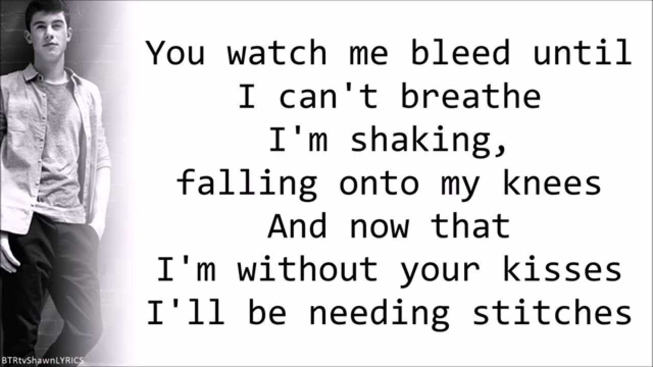 Lyrics for stitches by orgy