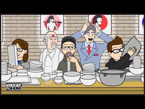 The Woody Show - Jo Koy's Restaurant Can't Handle The Woody Show | Animated Podcast
