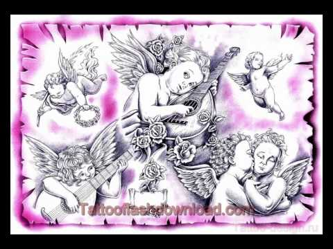 Tattoo designs, sketches & ideas - angel tattoos