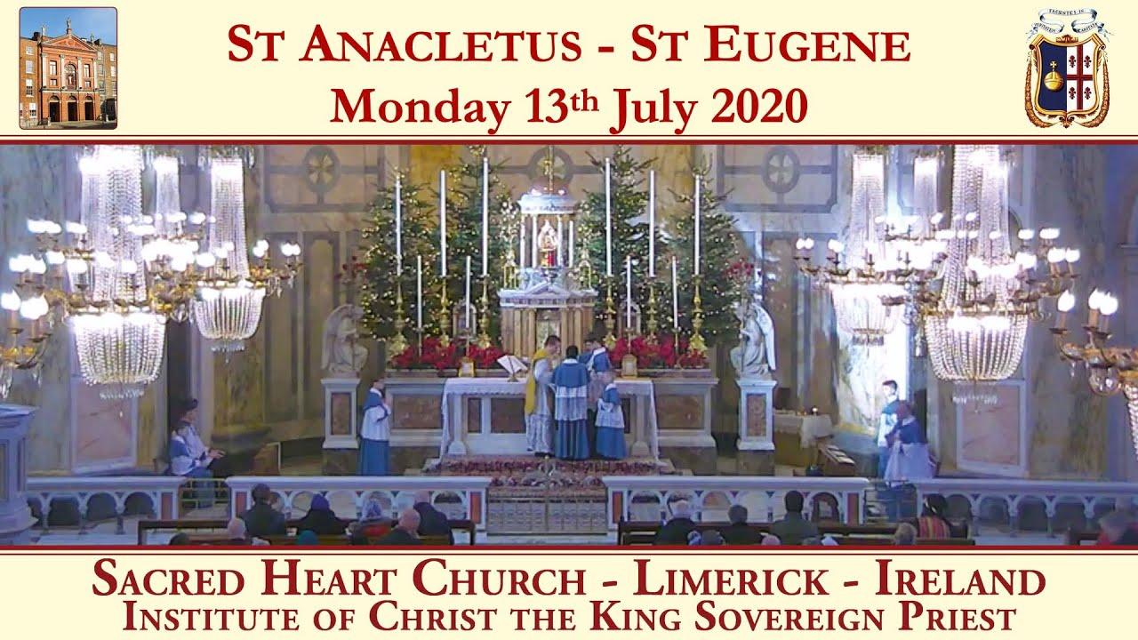 Monday 13th July: Saint Saint Anacletus; Saint Eugene