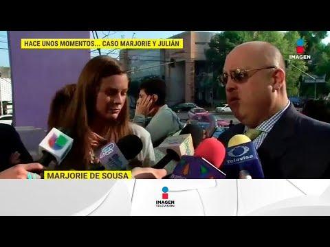 ¡Marjorie de Sousa rechaza los cheques de la pensión que dio Julián Gil! | De Primera Mano