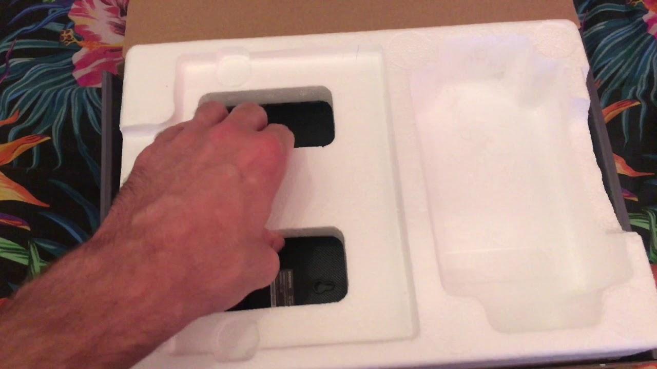 Ongekend Samsung Wireless Rear Speaker kit SWA-9000S unboxing / распаковка UQ-29