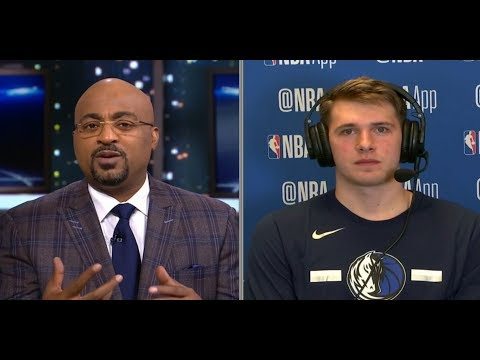 Luka Doncic on Mavericks win vs Warriors | November 17, 2018