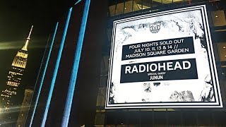 RADIOHEAD - Full Performance [4K] Night 1 Live @ Madison Square Garden NYC