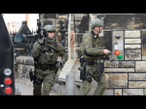 Ottawa Shooting 2014 Police and Military Press Conference
