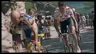 Pantani, show all'Alpe d'Huez