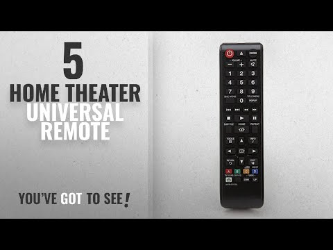 Top 5 Home Theater Universal Remote [2018]: AH59-02533A Replacement 3D Blu-Ray Disc Home Theater