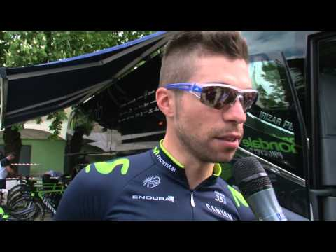 Giro del Trentino 2014: Giovanni Visconti before stage1 (TTT)