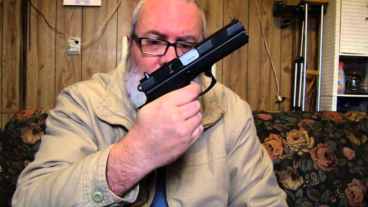 CZ97 vs 1911 with El Paso Saddlery Holster and belt review