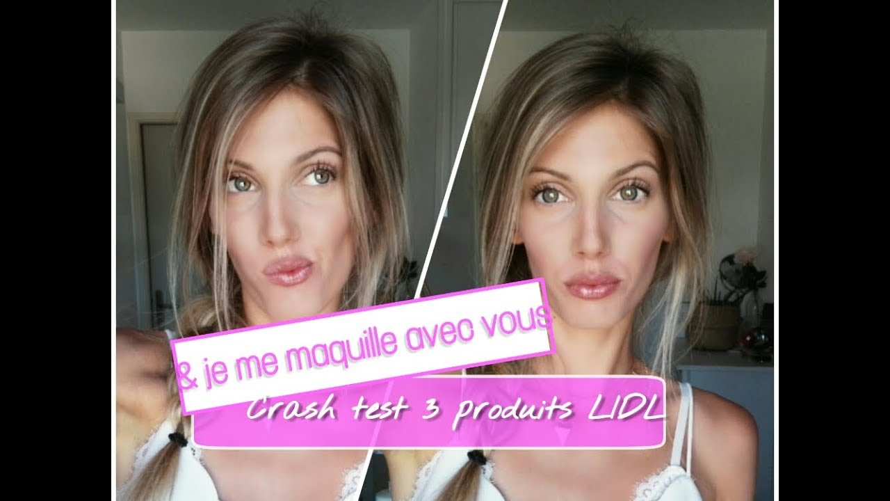 Makeup d'été + CRASH TEST Maquillage LIDL