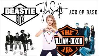 Beastie Boys vs. Taylor Swift vs. Ace of Base Mashup - Ladies are Trouble