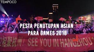 Meriahnya Pesta Penutupan Asian Para Games 2018