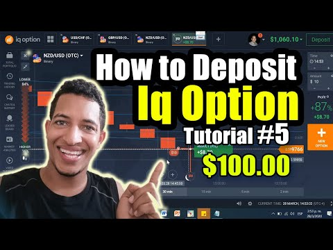 tutorial deposit iq option