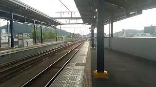JR四国 坂出駅 高松行き快速マリンライナー 到着