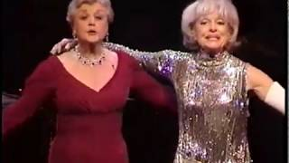 Angela Lansbury and Carol Channing in a number Conceived and directed by David Galligan
