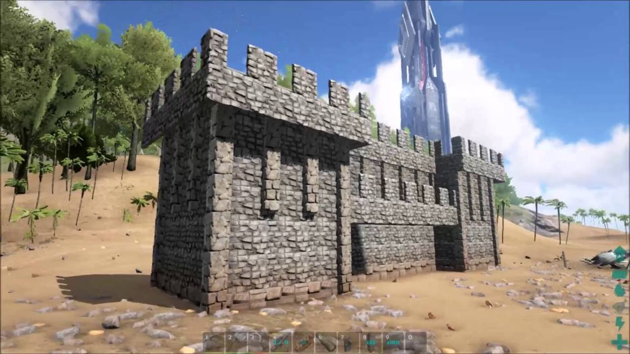 Ark survival evolved how to build medieval castle walls tutorial ark survival evolved how to build medieval castle walls tutorial youtube malvernweather Gallery