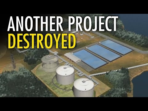 BC NDP Destroyers scare off another LNG project