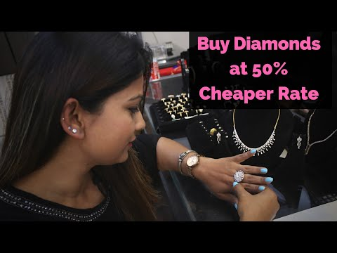 Buy Diamond Jewellery At Wholesale And Cheap Rate | Delhi Shopping | DesiGirl Traveller