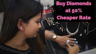 Buy Diamond Jewellery At Wholesale And Cheap Rate | Delhi Shopping | DesiGirl Traveller
