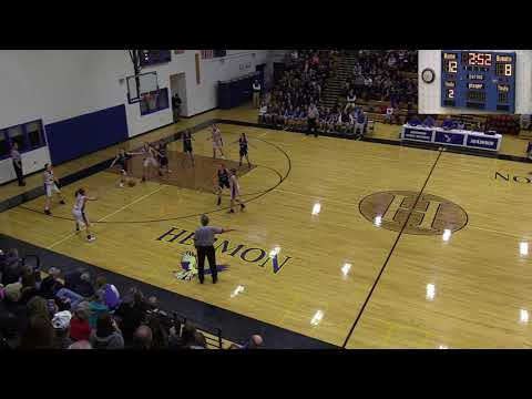 Hermon Hawks Varsity Girls vs Presque Isle High School